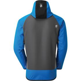Dare 2b Aptile Softshell Jacket Men athletic blue/ebony grey/black